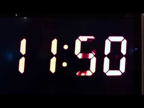 Analog Digital Clock  Maarten Baas (Dutch, born Germany 1978)