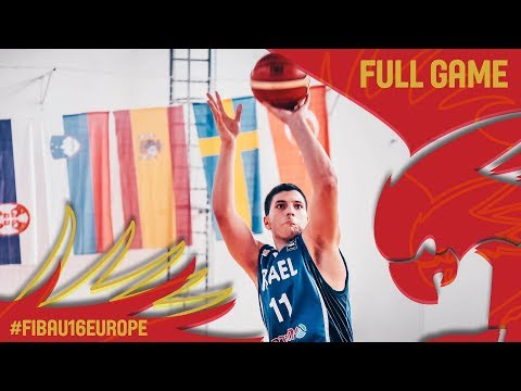 Serbia v Israel - Full Game - FIBA U16 European Championship 2017