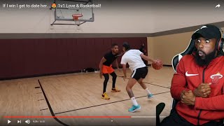 DDG GOT SAUCED UP BY A FEMALE HOOPER!! BLOWOUT!! 1vs1 Basketball