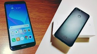 Huawei Y6 Prime 2018 Unboxing   فتح صندوق ونظره اوليه لجهاز