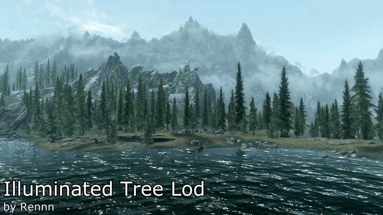 Skyrim Mods Markarth Plus Illuminated Tree Lod