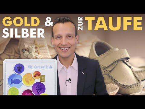 Gold und Silber als Geschenk zur Taufe