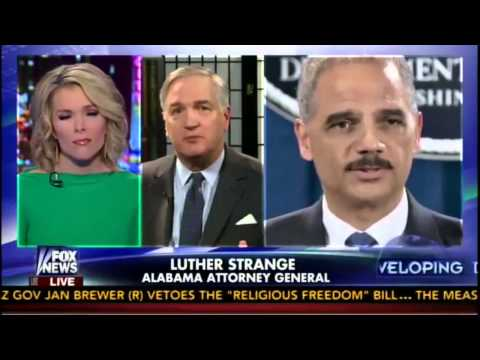 Luther Strange on FOX with Megyn Kelly