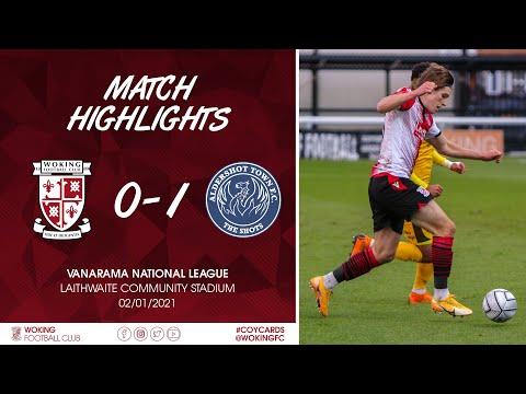 Woking Aldershot Goals And Highlights