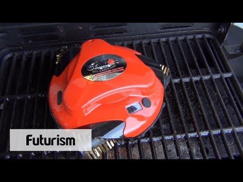 Grill Cleaning Robot Youtube