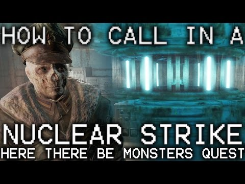 Fallout 4 How to Call in a Nuclear Strike! The Yangtze Submarine!