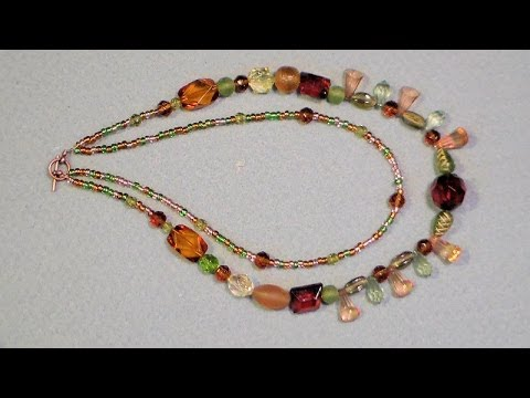 new usa necklace inzuki designs strand beaded product multi multistrand