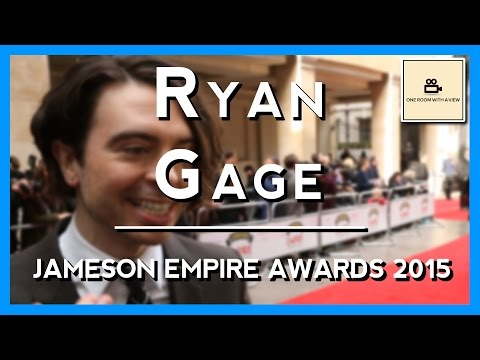 Ryan Gage  'The Hobbit Set Was Surreal'  Jameson Empire Awards 2015