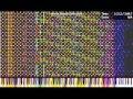 [Black MIDI] Radioactive - 936,000 notes