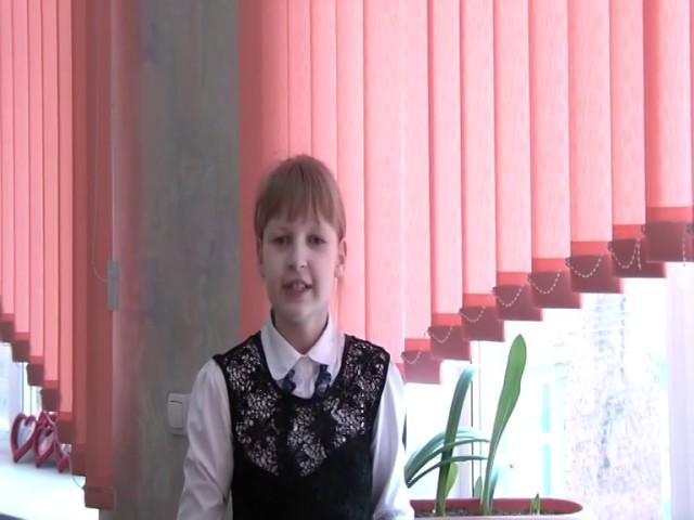 Изображение предпросмотра прочтения – АнастасияКоваленко читает произведение «Майская песенка» В.В.Маяковского