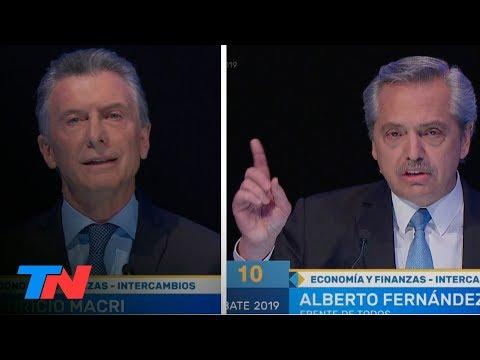 La economía, el cruce más tenso entre Macri y Alberto Fernández