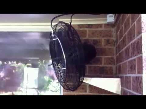 Вентиляторы с туманным охлаждением