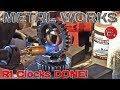 Yamaha R1 carbon fiber faced clocks! Metal works! EP.6
