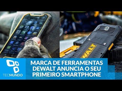 Durão: marca de ferramentas DeWALT anuncia o seu primeiro smartphone