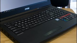 MSI GL62-7RD Review - Budget gaming