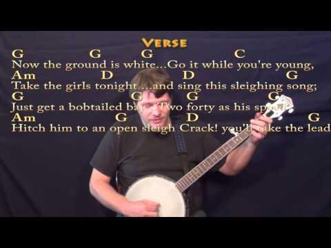 Jingle Bells (Christmas) Banjo Cover Lesson w/ Lyrics/Chords - YouTube