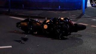Motorradunfall – Linksabbieger übersieht entgegen kommenden Kradfahrer