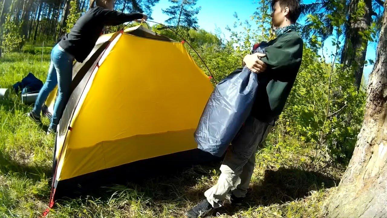 Обзор и сборка палаток Toronto GREEN WAY - YouTube