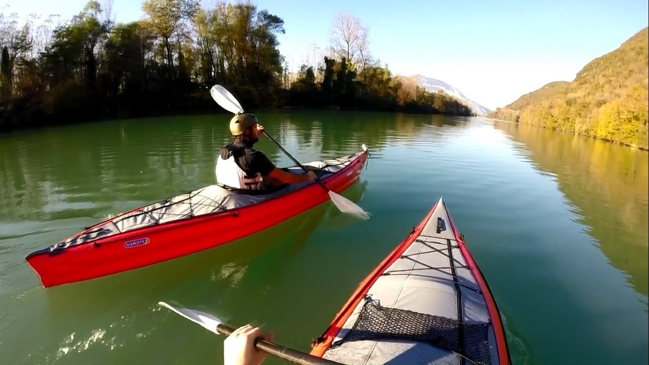 Test du kayak gonflable gumotex framura sur le lac du bourget youtube - Test kayak gonflable ...