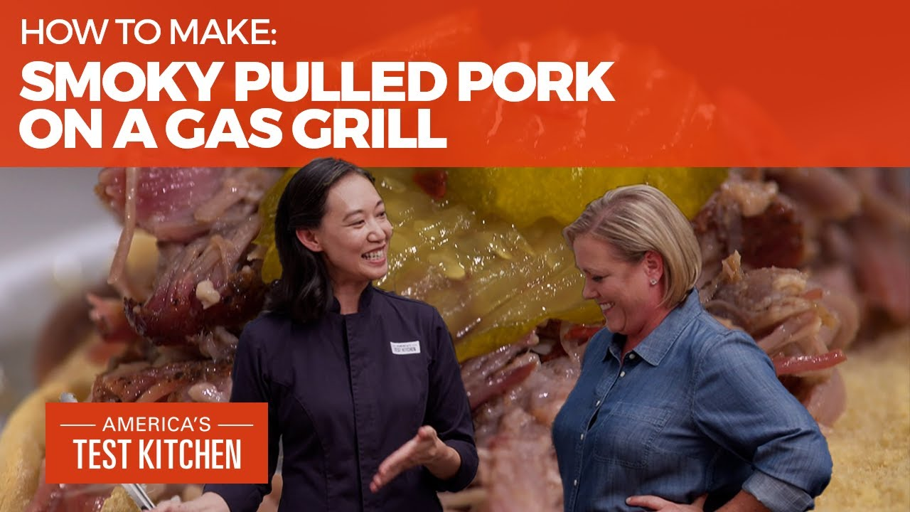 How to Make the Best Smoky Pulled Pork on a Gas Grill