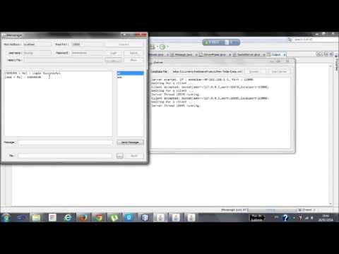 Application java chat client server download youtube for Consul server vs client