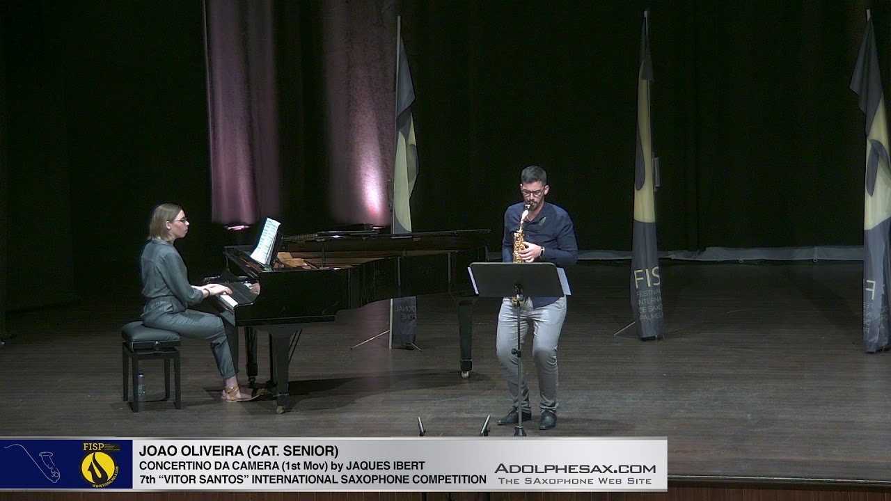 FIS Palmela 2019 - Joao Oliveira - Concertino da Camera by Jaques Ibert 1st Mov