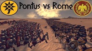 Total War: Rome II - Pontus vs Rome - Online Battle #2