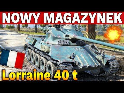 NOWY MAGAZYNEK PREMIUM - Lorraine 40 t - World of Tanks