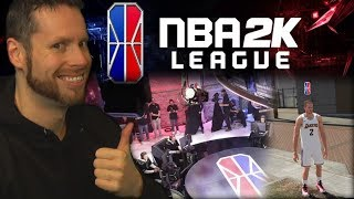 IT'S OFFICIAL! I'm joining the NBA 2K League!