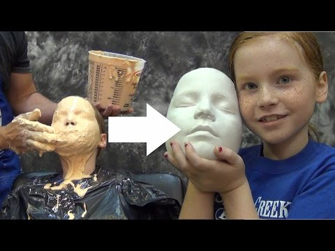 Thumbnail: Lifecasting Tutorial: Accucast 590 Face Cast