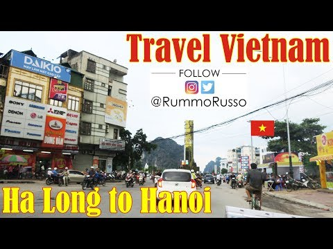 Going to Ha Long to Hanoi, Natural Beauty