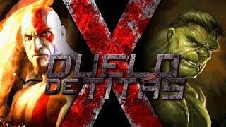 Kratos VS Hulk Duelo de Titãs