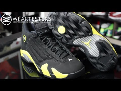 timeless design de0cb 4a8b6 Air Jordan 14 Retro  Thunder