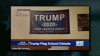 Teacher Threatened To Kick Student Out of Virtual Class Because of Trump Flag, His Response is Epic