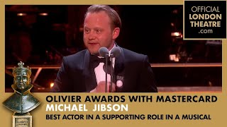 Olivier Awards 2018 - Michael Jibson wins BEST ACTOR IN A SUPPORTING ROLE IN A MUSICAL