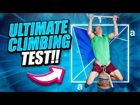 Math professor tries @Magnus Midtbø ultimate climbing test!!