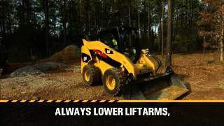 Cat® Skid Steer and Compact Track Loader Safety & Operating Tips: Part 6 - Machine Shut Down