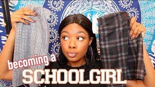 Becoming A Schoolgirl??? | Haul