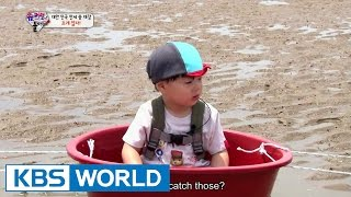 Triplets' House - Let's dig out the clams! (Ep.85 | 2015.07.12)