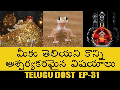 top-amazing-&-interesting-facts- telugu-facts- -do-you-know-ep-31