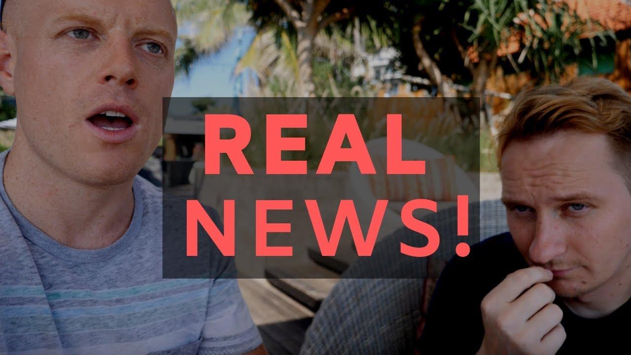 REAL NEWS! (Breaking News) (really) ft.  Luke WeAreChange