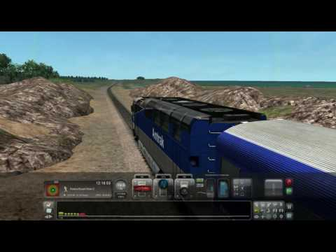 Train Simulator 2016: Driving Amtrak from Oceanside to Miramar South Wye