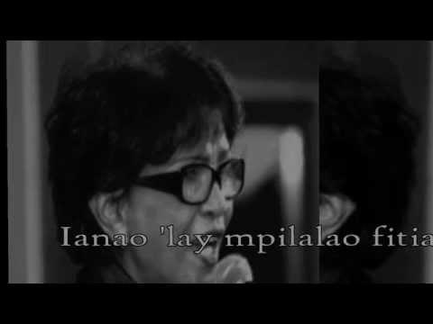 Mpilalao fitia - Fanja Andriamanantena