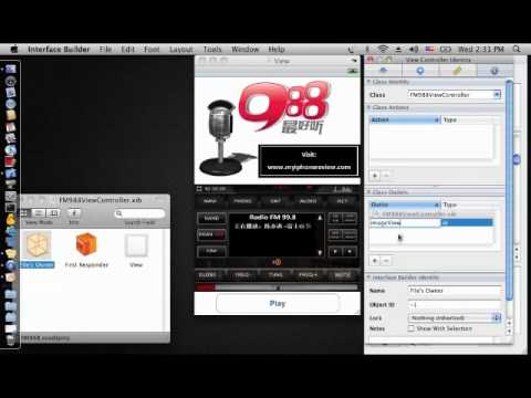 Create Simple IPhone Radio App