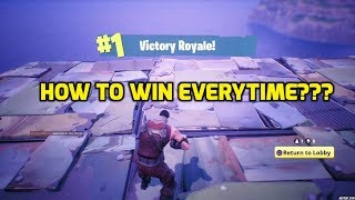Fortnite Battle Royale! 50v50! How To WIN EVERYTIME! (Cheating)