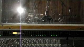 "Adagio - Making of ""Archangels in Black "" Part 1:  Recording Drums !"