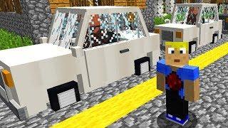 Minecraft Dorf Straßenverkehr mit Dorfbewohnern in der eigenen Minecraft Welt!
