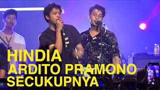Download lagu HINDIA ARDHITO PRAMONO SECUKUPNYA Live at REVEL GIGS BY HECTIC  31 JANUARI 2020