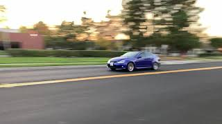 Lexus ISF 5.0 V8 fly bys and take off (4k video available)