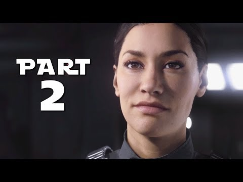 STAR WARS BATTLEFRONT 2 Walkthrough Gameplay Part 2 - Hask - Campaign Mission 2 (BF2 Battlefront II)